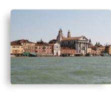 Street of Venice Canvas Print