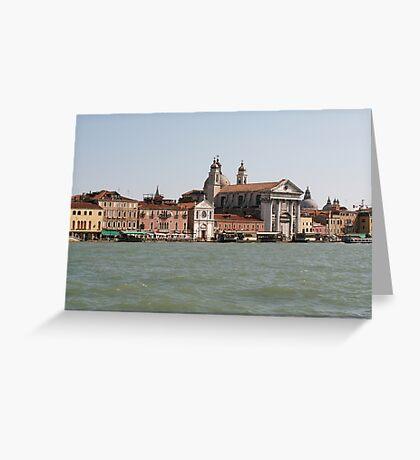 Street of Venice Greeting Card