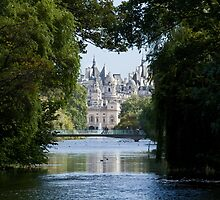Whitehall from St. James's Park by Sue Robinson