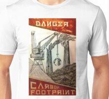 Danger, Carbon Footprint ( i ) Unisex T-Shirt