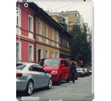 The Street and the cars iPad Case/Skin