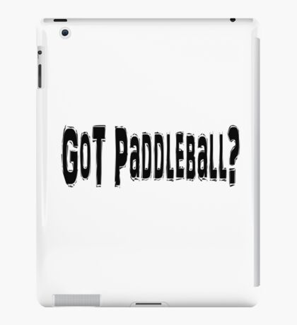 Paddleball iPad Case/Skin