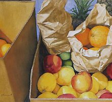 Box of fruit by jamescassel