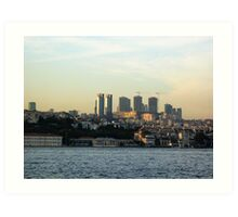 building istanbul. Art Print