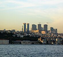 building istanbul. by Alexandra Brovco