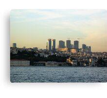 building istanbul. Canvas Print