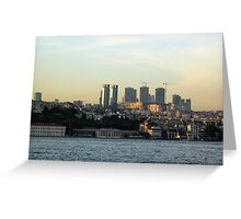building istanbul. Greeting Card