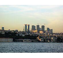building istanbul. Photographic Print