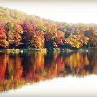 Autumn at the Lake by Susan S. Kline
