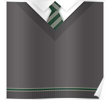 Slytherin House Uniform Poster