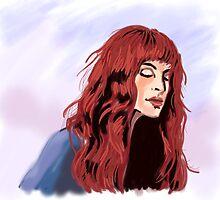 Red Hair (A Fine Frenzy) by adunaphel13