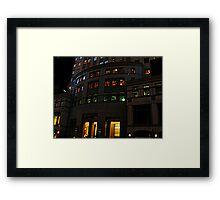 Worldwide Plaza, 8th Avenue, NYC Framed Print