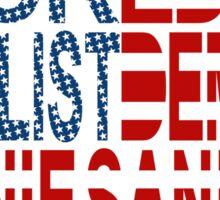 Backed by Populist Demand: Bernie Sanders Sticker