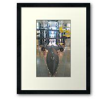 Sr71 Blackbird Framed Print