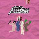 News Team Assemble! (Pink) by Sir-Ibbington
