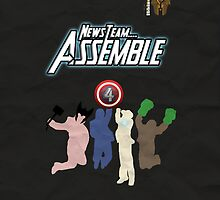 News Team Assemble! (Black) by Sir-Ibbington