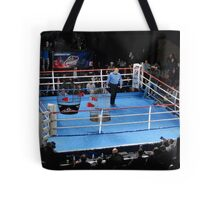 Barney hopes his first referee job--Ultimate Cage Fighting --isn't for the birds. Tote Bag