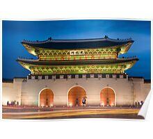 Seoul palace Poster