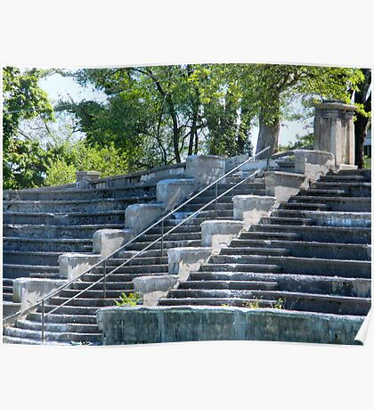 Stone Stairs    ^ Poster