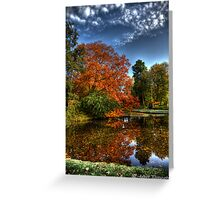 Colors of Autumn in Holland II Greeting Card