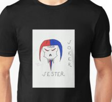 Cursed Jester Joker Card Unisex T-Shirt