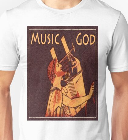 Orpheus, Ancient Greek Musician Unisex T-Shirt