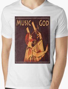 Orpheus, Ancient Greek Musician Mens V-Neck T-Shirt