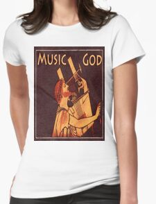 Orpheus, Ancient Greek Musician Womens Fitted T-Shirt