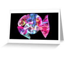 Pink Tetra Fish Greeting Card