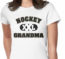 Hockey Grandma Womens Fitted T-Shirt