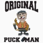 Hockey Puck Man by SportsT-Shirts