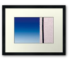 Cottages at West Bay - Abstract #3 Framed Print