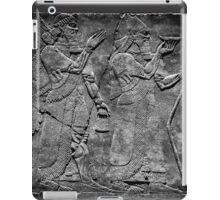 King Ashurnasirpal II and genius iPad Case/Skin