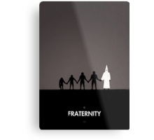 99 Steps of Progress - Fraternity Metal Print