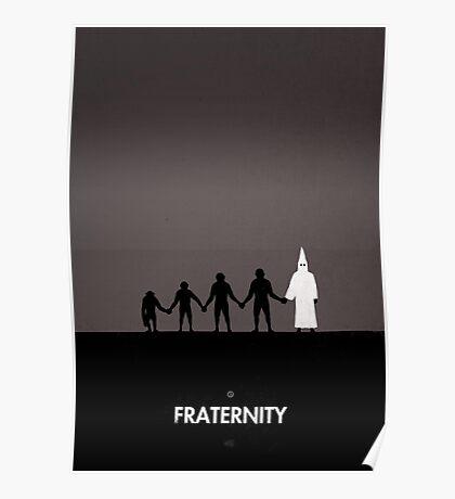 99 Steps of Progress - Fraternity Poster