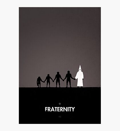 99 Steps of Progress - Fraternity Photographic Print