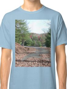Rustic Park Road in the Appalachia Mountains Classic T-Shirt