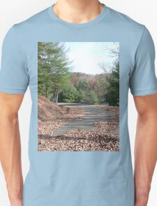 Rustic Park Road in the Appalachia Mountains T-Shirt