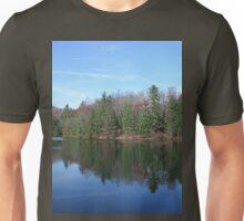 Scenic Glassy Mountain Lake Unisex T-Shirt