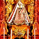 Sanctuary Hohenpeissenberg ~ Altar with Madonna  by ©The Creative  Minds