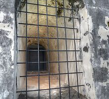 The Window at Fort Charlotte in Nassau, The Bahamas by Jeremy Lavender Photography
