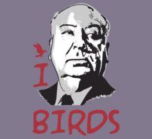 I LOVE BIRDS T-shirt Kids Clothes