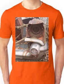 Old Fender of a Wrecked Retro Car Unisex T-Shirt