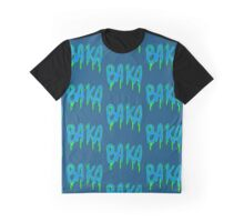Baka Series- Black and Green Graphic T-Shirt