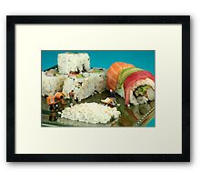 Making Sushi Framed Print