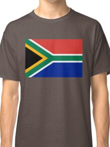 National flag of the Republic of South Africa Authentic version Classic T-Shirt