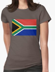 National flag of the Republic of South Africa Authentic version Womens Fitted T-Shirt