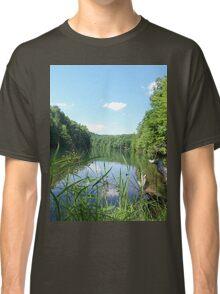 Wild and Wonderful Rustic Wilderness Lake Classic T-Shirt