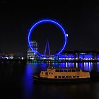 London Eye by Night by Pauws99