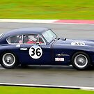 Aston Martin DB2/4 No 36 by Willie Jackson